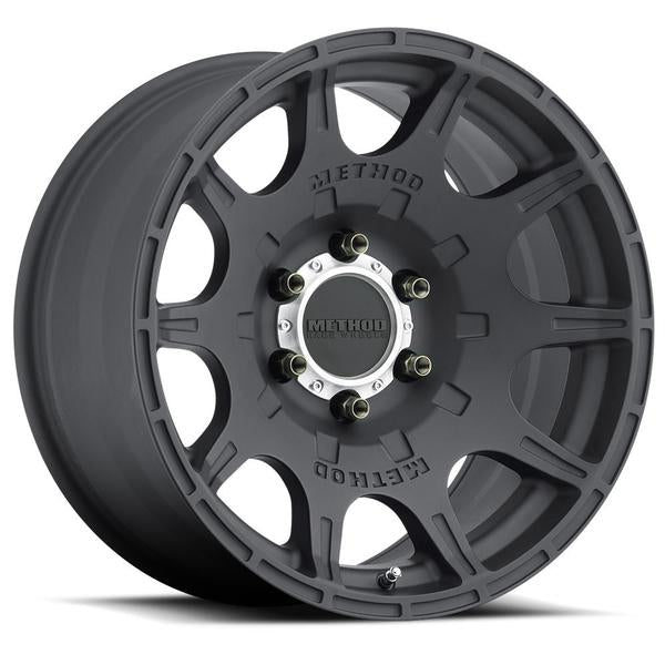 MIdnight 4x4, Method Wheels, method, wheel, 308, roost, matte black