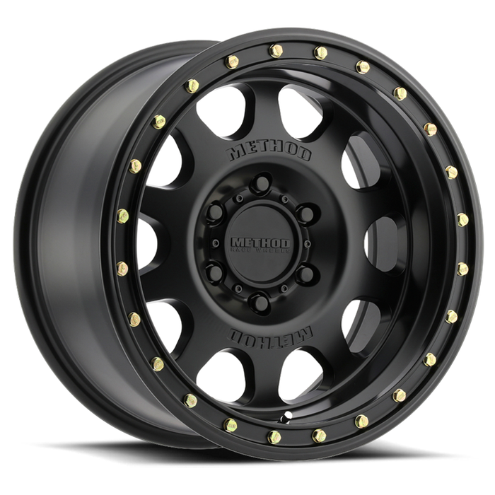 beadlock, bead lock, faux, fake bead, method wheels, method wheel, midnight 4x4, 311, Vex Matte Black