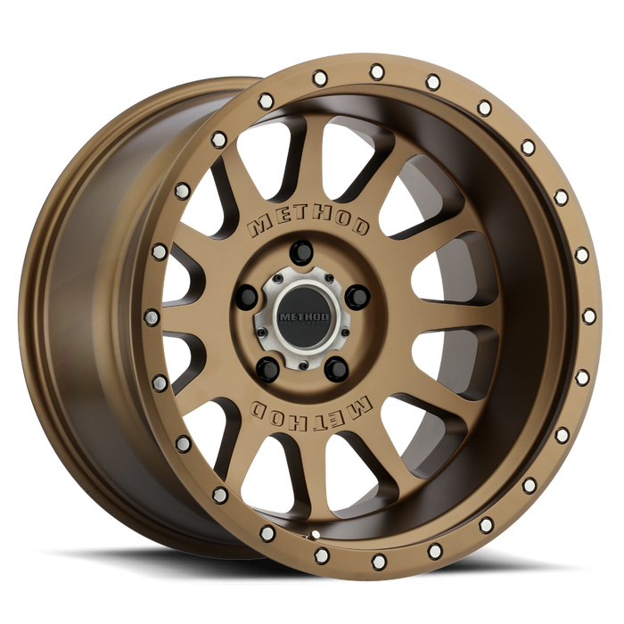 beadlock, bead lock, faux, fake bead, method wheels, method wheel, midnight 4x4, 605, NV Bronze