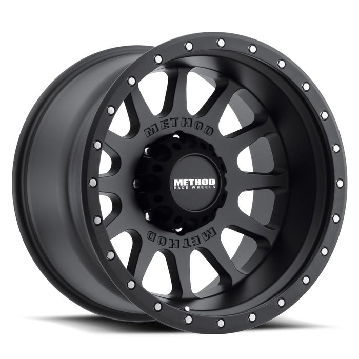 beadlock, bead lock, faux, fake bead, method wheels, method wheel, midnight 4x4, 605, NV Matte Black