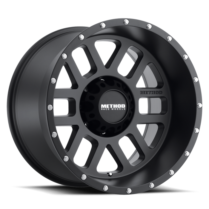 beadlock, bead lock, faux, fake bead, method wheels, method wheel, midnight 4x4, 606, Mesh Matte Black