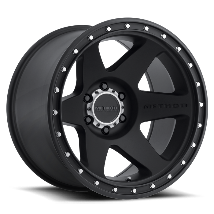 beadlock, bead lock, faux, fake bead, method wheels, method wheel, midnight 4x4, 610, Con 6, Matte Black