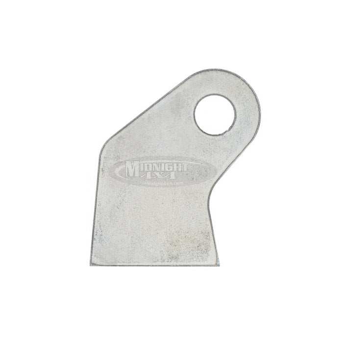 "Flat Angled Shock Tab, 1/2"" Mount Hole, 2-3/4"" Tall, 1-3/4"" Wide, Midnight 4x4"