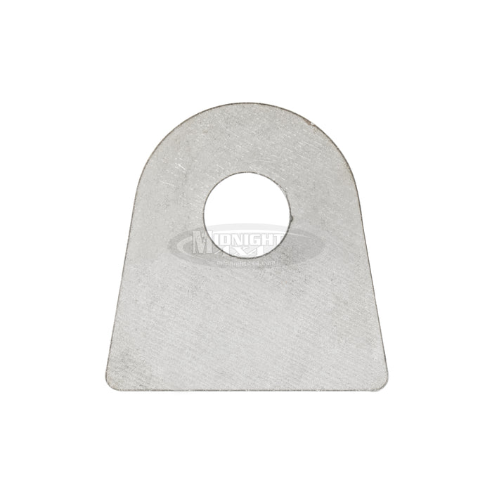 "Flat mount tab, 5/8"" hole, 1-3/8"" Tall to mount center, midnight 4x4"