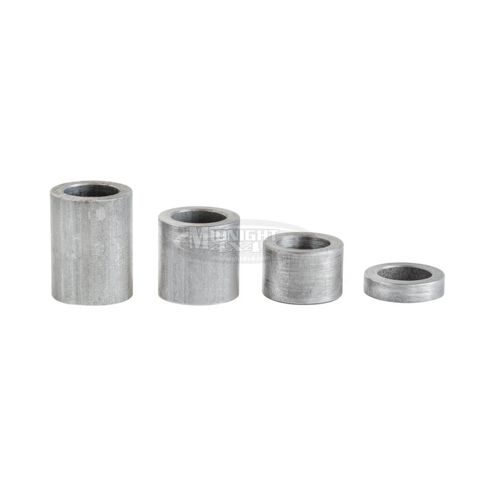 "Round Spacers, 1/2"" Mount Hole, 3/4"" OD, 1/8"" Thick, Midnight 4x4"
