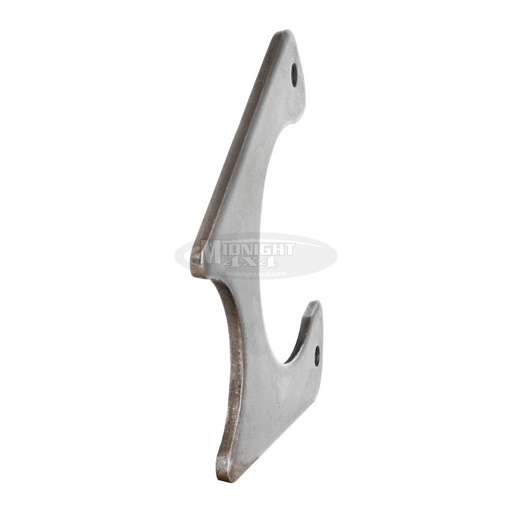 "Small GM Caliper Bracket, 1/4"" steel, midnight 4x4"