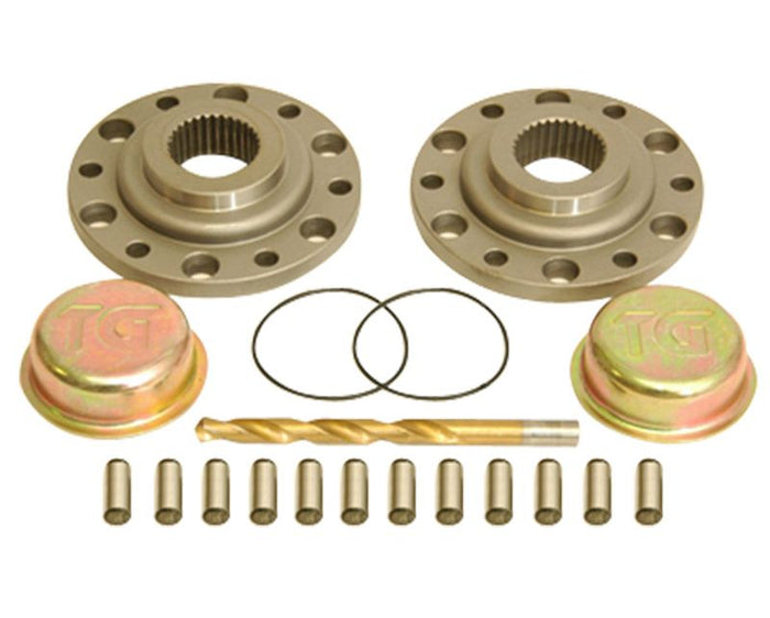 Drive Flange Kit w/ Dowel Pins, Drill Bit and Dust Shield