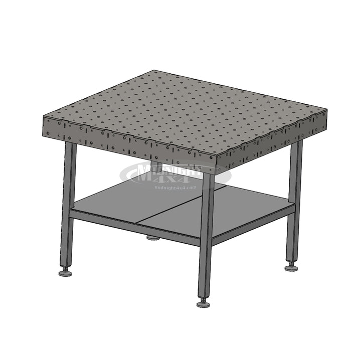 Jig Table, Welding Table, Chassis Table, Fixture Table, 48 x 48, 24 x 24, 48 x 24, midnight 4x4