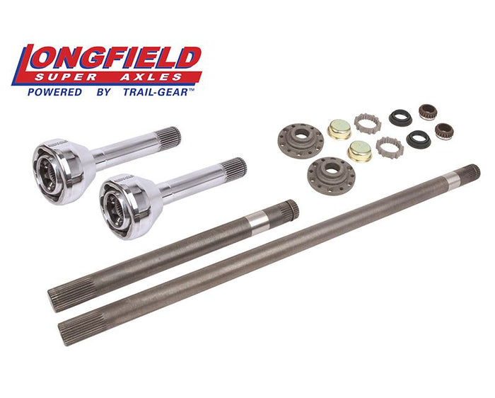 Longfield 30 Spline Birfield/Axle Super Set (FJ 60), Gun Drilled