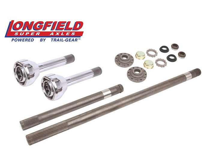 Longfield 30 Spline Birfield/Axle Super Set (Long Spline E-Locker) (FJ 60), Gun Drilled
