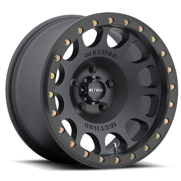 Method Race Wheels: 105 Beadlock Matte Black