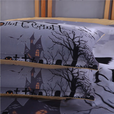 Halloween Party Bedding Set