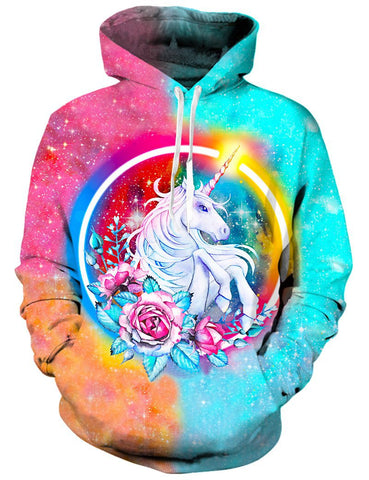 Rose and Unicorn Hoodie
