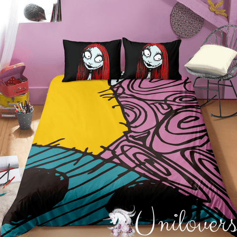 Colorful Sally Pattern Bedding Set