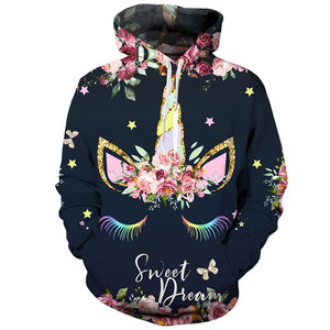 Sweet Dream Unicorn Hoodie