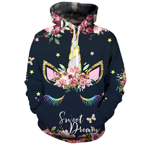 Image of Sweet Dream Unicorn Hoodie