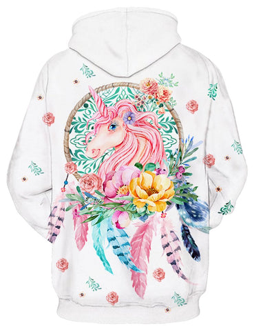 Image of Dreamcatcher Unicorn Hoodie