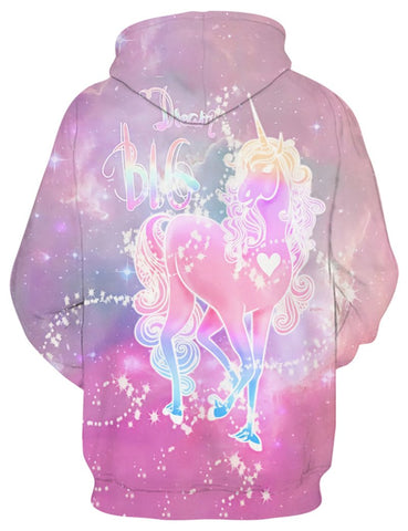 Image of Glowing Unicorn Hoodie