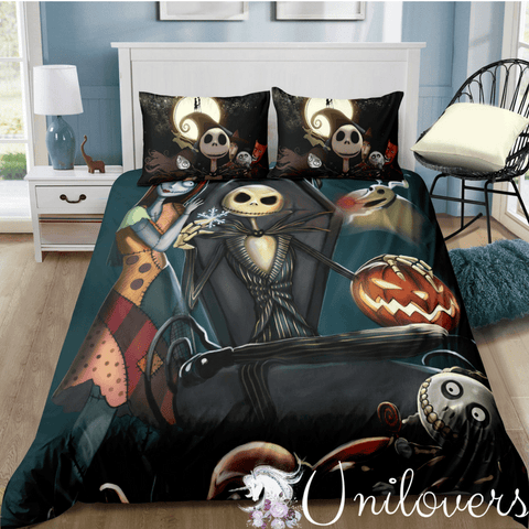 Mysterious Halloween Night Bedding Set