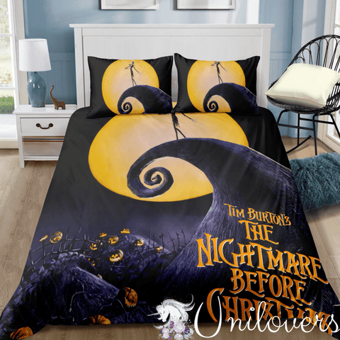 The Nightmare Before Xmas Bedding Set