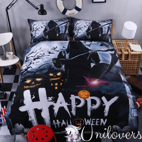 Happy Halloween Bedding Set