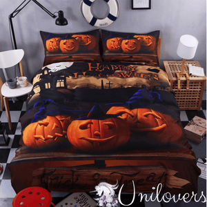 Pumpkin Night Bedding Set