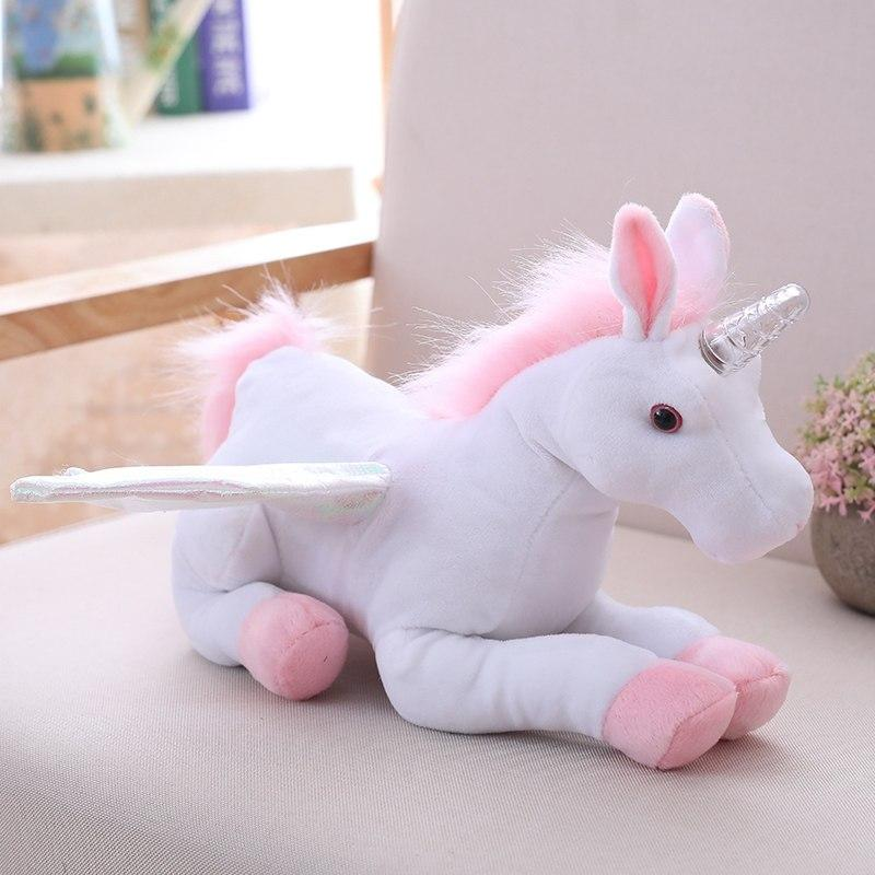 Electric Singing Unicorn Plush Toy