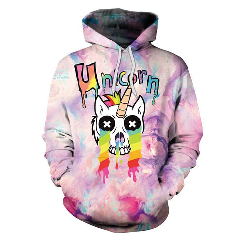 Image of Halogram Unicorn Hoodies