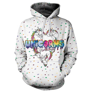 Lovely Unicorn Hoodies