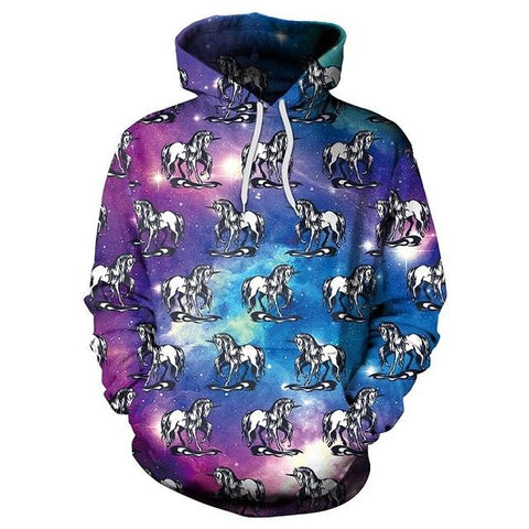 Image of Galaxy Unicorn Hoodie