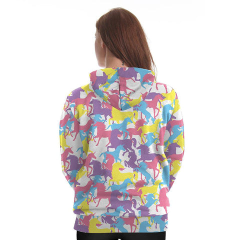 Colorful Unicorn Hoodie