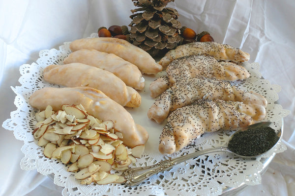 Almond & Poppyseed Crescents