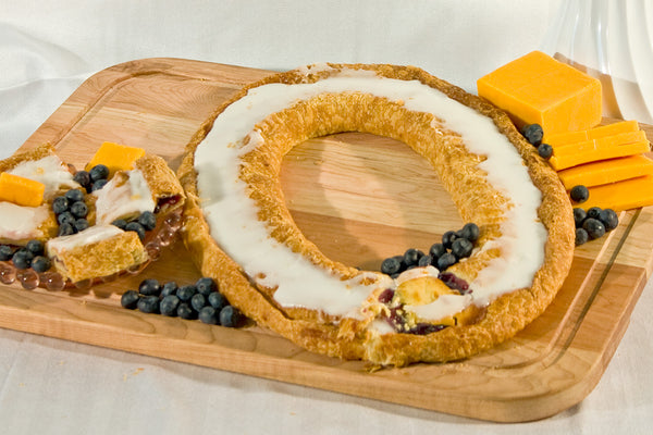 Blueberry Cheese Kringle