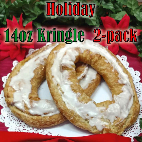 Holiday Special 14oz Kringle 2 Pack - Pumpkin Cheese and Cranberry Walnut