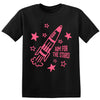 Aim for the Stars Kids' Rocket T-Shirt - NEW!