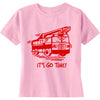 """It's Go Time!"" Kids' Fire Truck T-Shirt - NEW!"