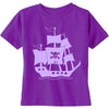 Purple Pirate Ship Kids' Shirt - NEW!