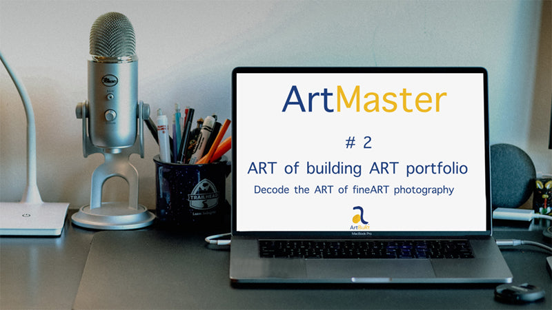 #2 ArtMaster - ART of building ART portfolio - Recording