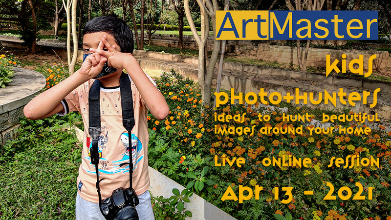 ArtMaster Kids - Photo Hunters Live Online Session - Batch 2 Apr 13th