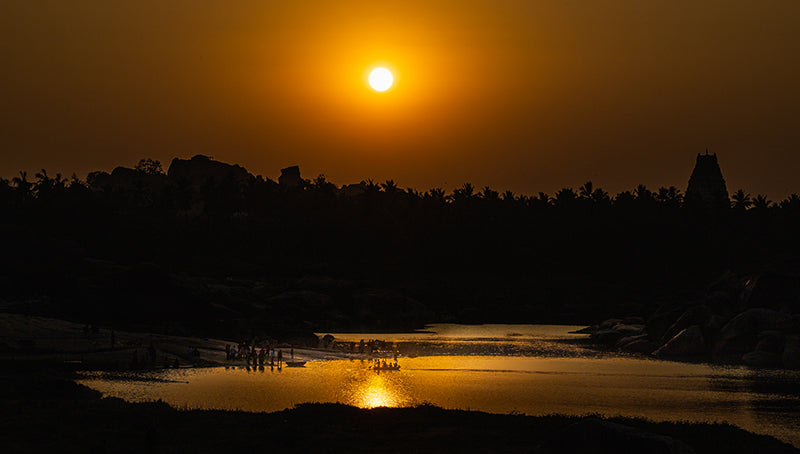 Virupaksha Sunset