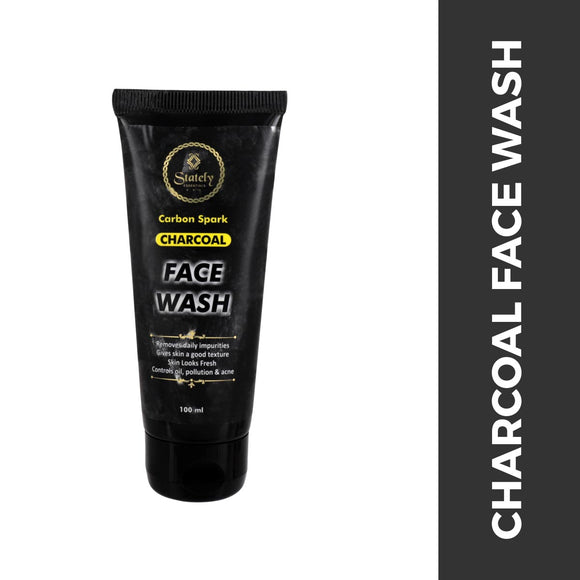 Stately Essentials Charcoal Face Wash