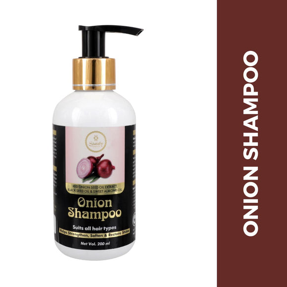 Red Onion Black Seed Oil Shampoo With Red Onion Seed Oil Extract, Black Seed Oil & Pro-Vitamin B5