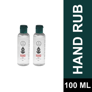 HAND SANITIZER (With 70% Alcohol) COMBO of 2 (100 ML)