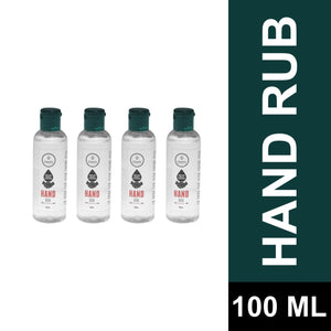 HAND SANITIZER (With 70% Alcohol) COMBO of 4 (100 ML)