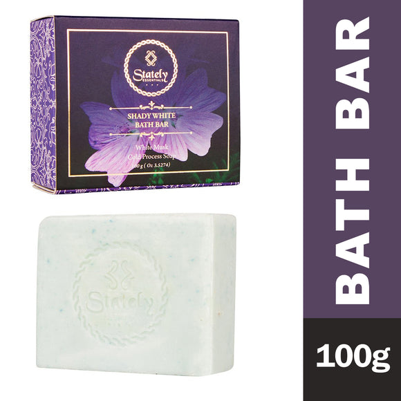Stately Essentials Shady White Bath Bar