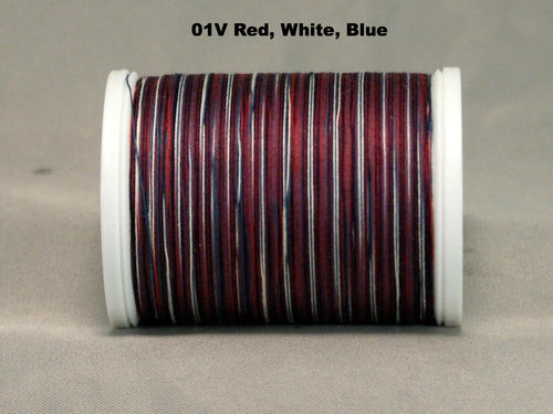 YLI Machine Quilting Thread - Variegated  -  Click for full colour range.
