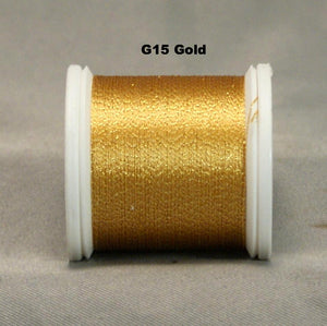 YLI #100 Silk Stitch - Sparkle - Click for full colour range.