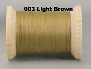 YLI Glazed Cotton Quilting Thread - 400 yard and 1000 yard spools -  Click for full colour range.