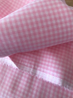 Swiss Cotton - Pink Check