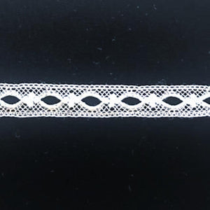 L-52 White and Ecru - Beading - 10mm.